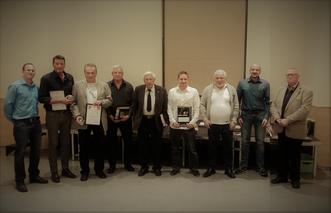 Das Foto (C: Rieth) zeigt (von links): Christian Golditz (stv. KSO), Ralf Schauberger, Manfred Bauer, Edmund Gertmann, Friedrich Lorey, Björn Benatzky, Peter Kersten, Christoph Eschmann (Lehrwart), Herbert Kretz.