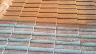 Hydrofuge pour toiture coloré