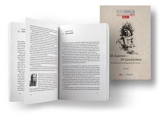 Foto der Antholoie der Buch Berlin, 30 Autoren, 30 Geschichten
