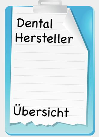 Dental Hersteller Übersicht
