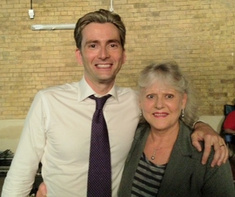 David Tennant und Pam Rose