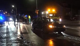 Foto van ongeval (Foto: Halderberge Online)