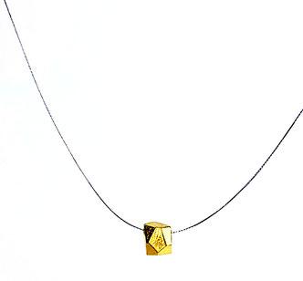 Ein Brocken Glück Minimal in 999 Gold