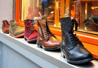 Schuhe, Werbung, Schuhgeschäft