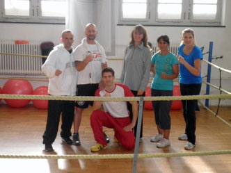 Marco Spath, Light-Contact Boxing und Jugendtrainerausbildung Mai 2013