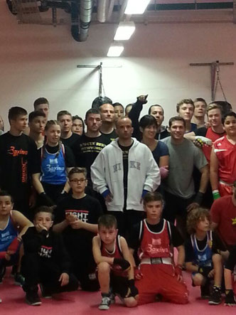 1. Swissboxing LC-Cup 2014 / 10.05.14 in Bern / M's-Gym Bern (1. offizielle Teilnahme des Boxing Team Ittigen) mit 3 Leuten am Start (Manuel Pfister, Marco Spath, Bernie Pulfer)