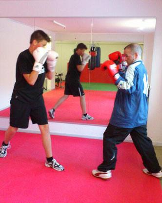 Light-Contact Boxing Sparring, Januar 2013@M's-Gym Bern, Ostermundigen