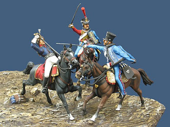 Prince Louis Ferdinand of Prussia. Saalfeld, 10th October 1806