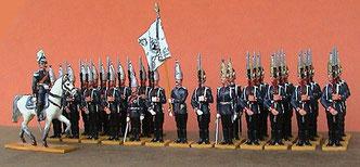 Parade im Lüstgaten zu Potsdam,  9.2.1894