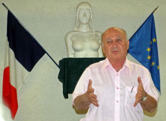 J.Paul Biberian à Sillans la Cascade le 28/09/2012