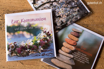 Kommunion, Karten, Glückwunschkarten, Erstkommunion, Weisser Sontag