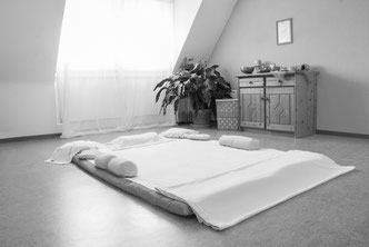 Shiatsu Reutlingen Behandlungsraum
