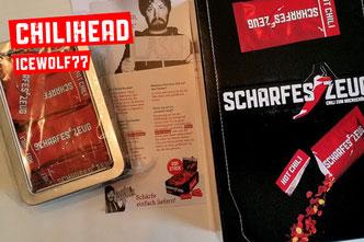 Chilihead Icewolf77   - Scharfes Zeug - Chili im Portionspäckchen