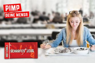 Pimp Deine Mensa / Kantine  - Scharfes Zeug - Chili im Portionspäckchen
