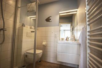 Badezimmer im DZ Oland