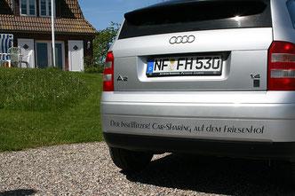 Der Friesenhof-Inselflitzer für das Car-Sharing