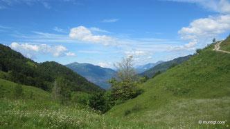 Sattel auf der Planina Pretovc (1115m)
