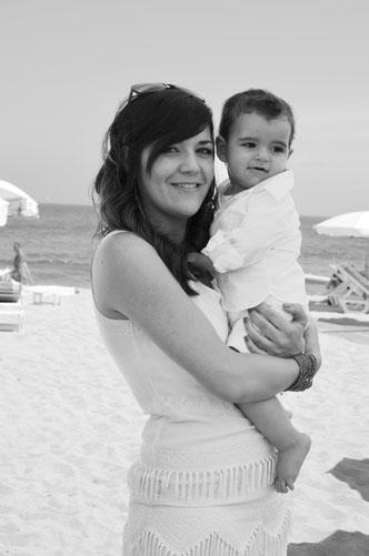 Alessio & sa maman Charlène