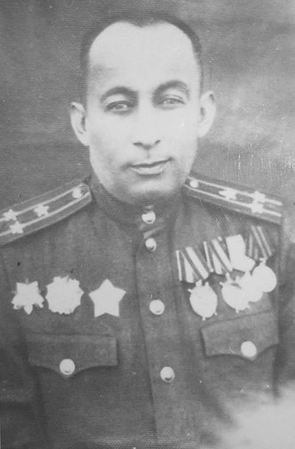 Підполковник Мердимаєв – командир 1144 стрілецького полку