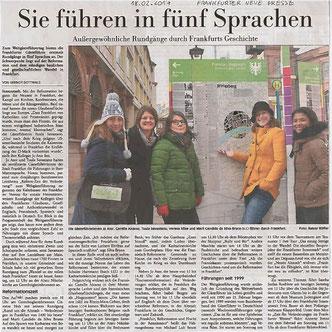 FNP Stadtführungen Frankfurt