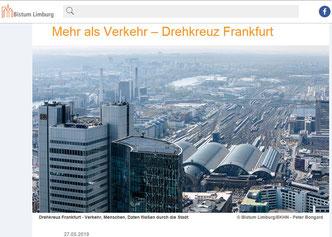 Drehkreuz Frankfurt Hauptbahnhof Flughafen
