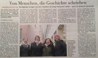 FNP Frankfurt Stadtführungen
