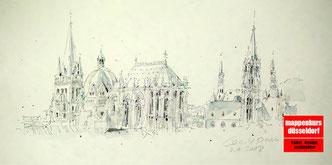 Mappenkurs Aarchitektur, Architekturzeichnen