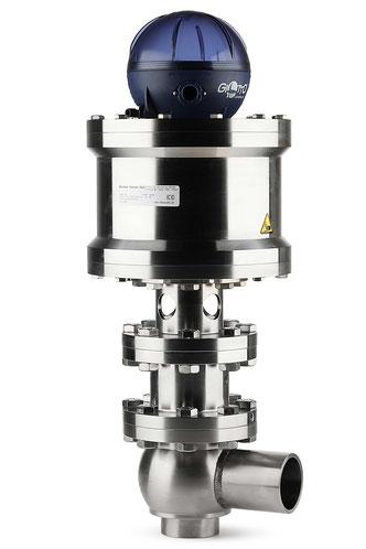 Hochdruckventil mit Dampfsperre für aseptische und sterile Anwendungen
