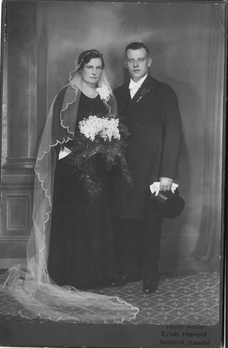 Frida Roch und Erich Fritz Schmidt 1935