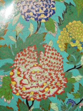 objets chinois, cloisonné, porcelaine, art asiatique, bol, vase