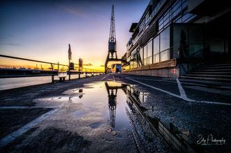 Hamburg / Dockland, Hamburger Hafen, Langzeitbelichtung, 2017, © Silly Photography