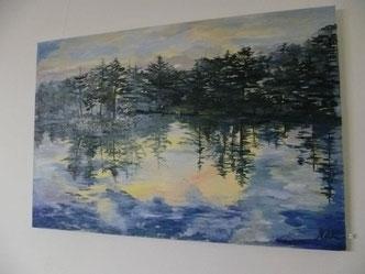 Das Bild ist bbei einem Kunstfreund in Privatbesitz.