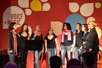 Ensemble Night 2015, Vocal Ensemble im Traumgarten