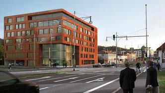Sitz der Kanzlei Michael Graf in Freiburg im Breisgau