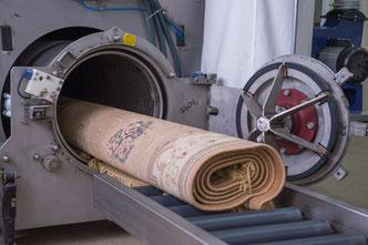 стирка ковров на фабрике в Москве