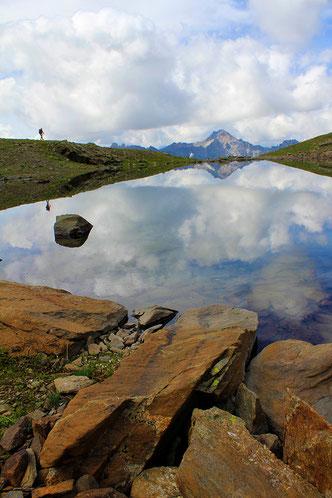 Lac des Gardioles, vallée de la Clarée, Hautes-Alpes