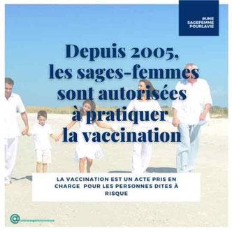 la vaccination par les sages femmes cabinet tuya firminy