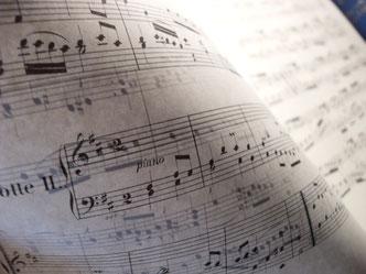 Ecole de musique EMC à Crolles - Grésivaudan : partition cours FM