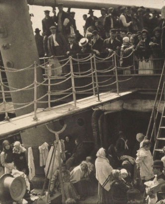 "Alfred Sieglitz, ""The Steerage,"" 1907, http://en.wikipedia.org/wiki/The_Steerage"