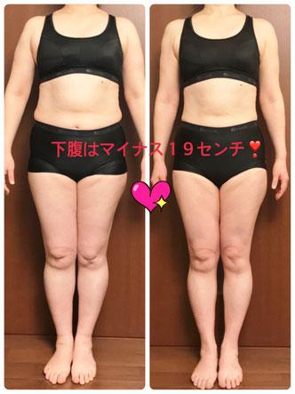 DNAパーソナル痩身 50代女性 2ヶ月目の結果