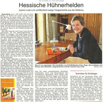 Hessische Hühnerhelden, WZ 01.03.2018, Text und Foto: Corinna Weigelt