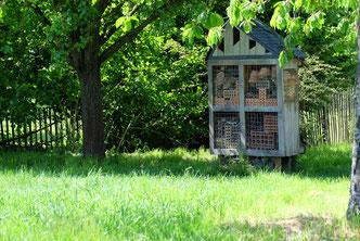 Du mobilier specifique peut être implanter pour accueillir la faune locale.