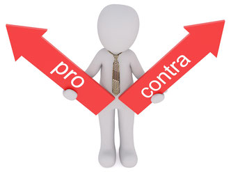 Liponit Augenspray Pro und Contra Schild