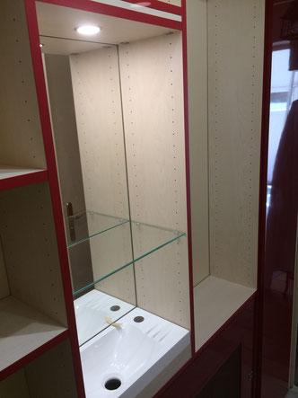 Aménagement sur mesure d'un WC