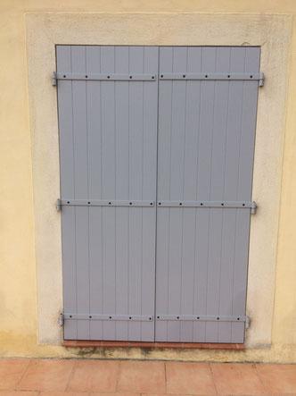 Rainurage parallèle intérieur vertical /  extérieur horizontal