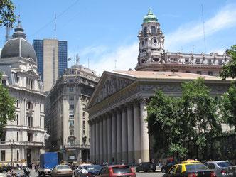 Nein, das ist nicht London, Paris oder Madrid. Es ist Buenos Aires, das so prachtvoll wie die europäischen Städte sein wollte.