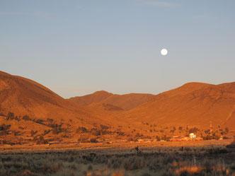 Auf der Strecke zwischen Oruro und Uyuni