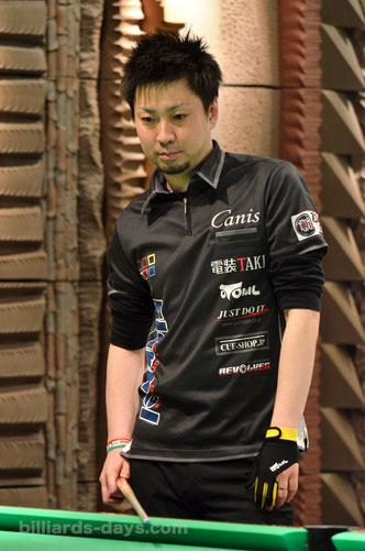 Naoyuki Oi 2015北海道オープン覇者:大井直幸
