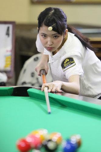 2016女流球聖戦にて Photo : AKira Takata