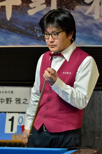 大坪和史(Kazufumi Otsubo) ※昨年の球聖戦・挑戦者決定戦時